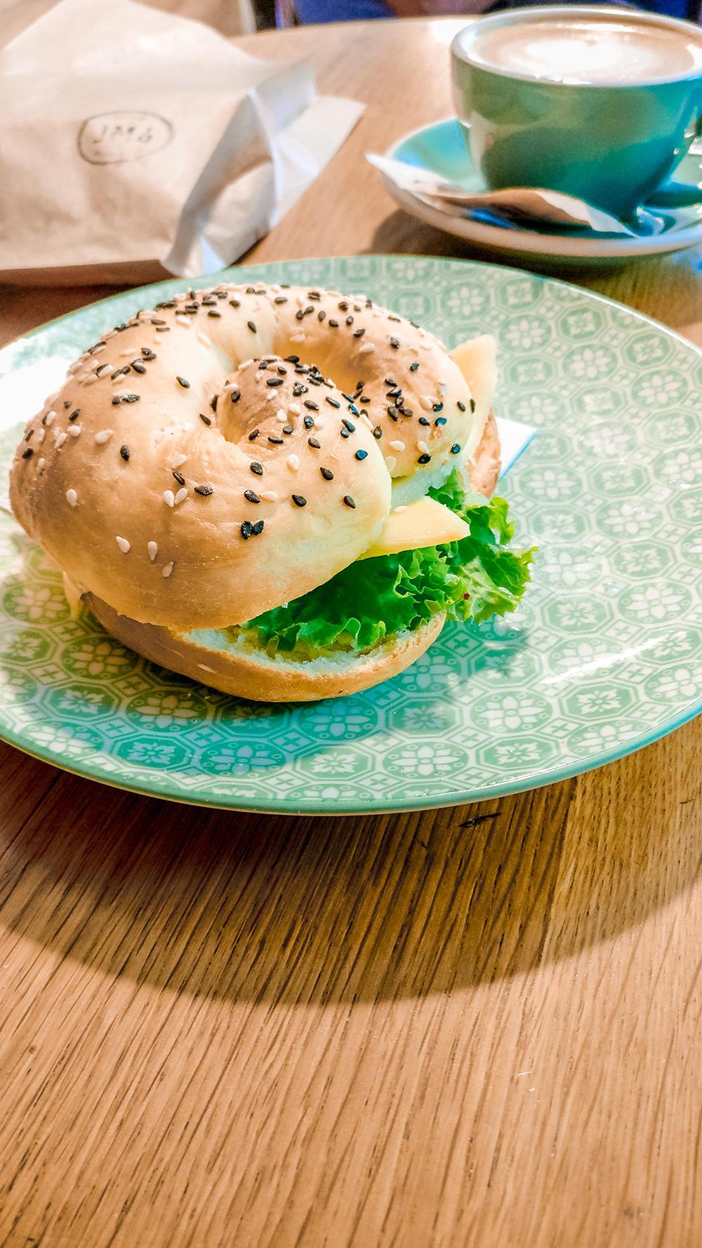 Tomato pesto sandwich at JM6 Bakery & Café - Budapest's best breakfast & brunch places - Jászai Mari square and Pozsonyi street | Aliz's Wonderland