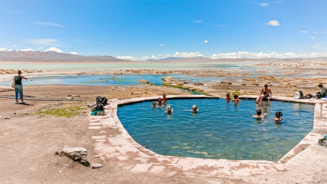 Thermas do Polques (hot springs in Polques) - How to pick the best Uyuni Salt Flats tour to Bolivia? | Aliz's Wonderland