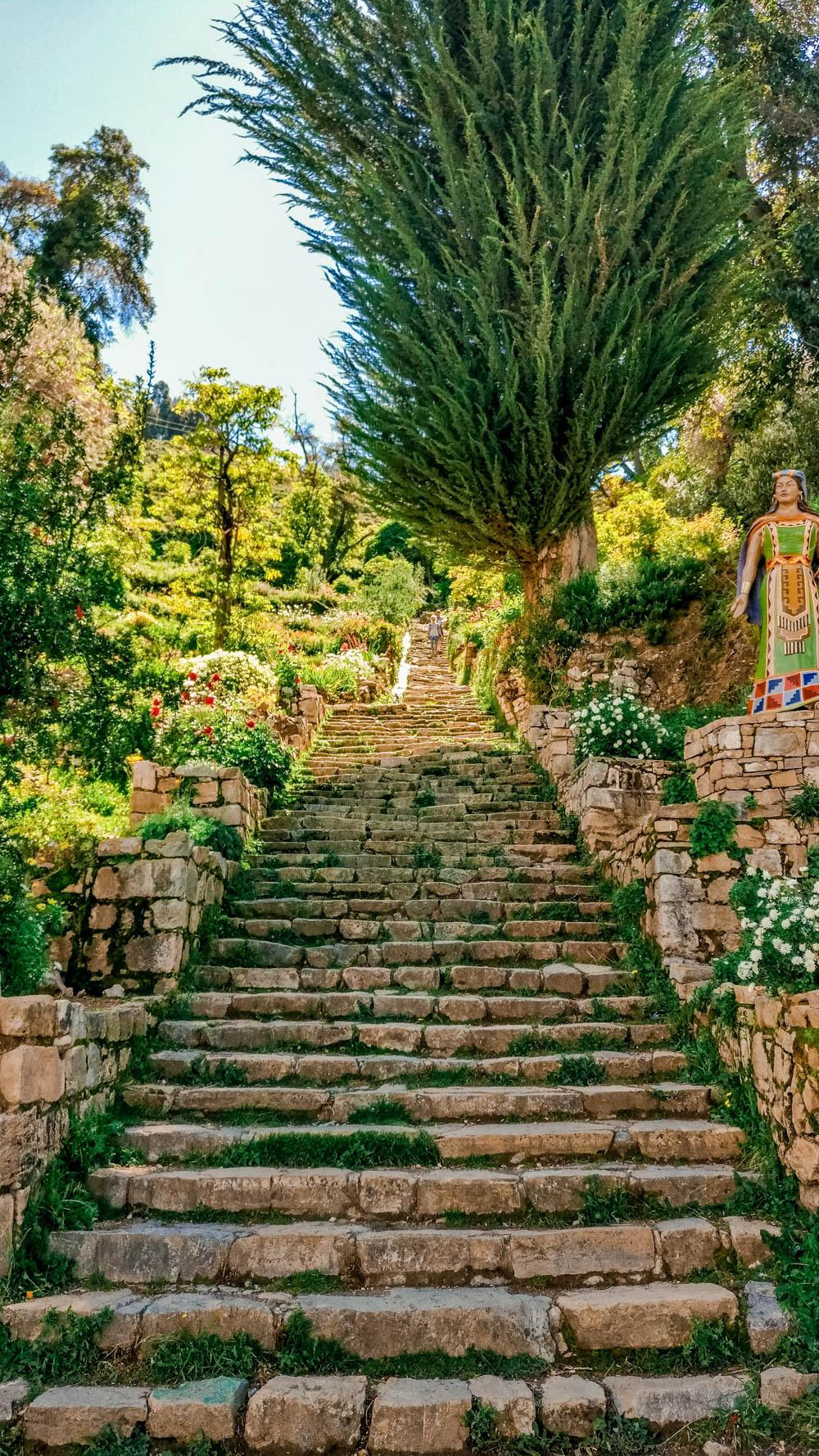Yumani Inca steps - A day trip to Isla del Sol, Bolivia | Aliz's Wonderland
