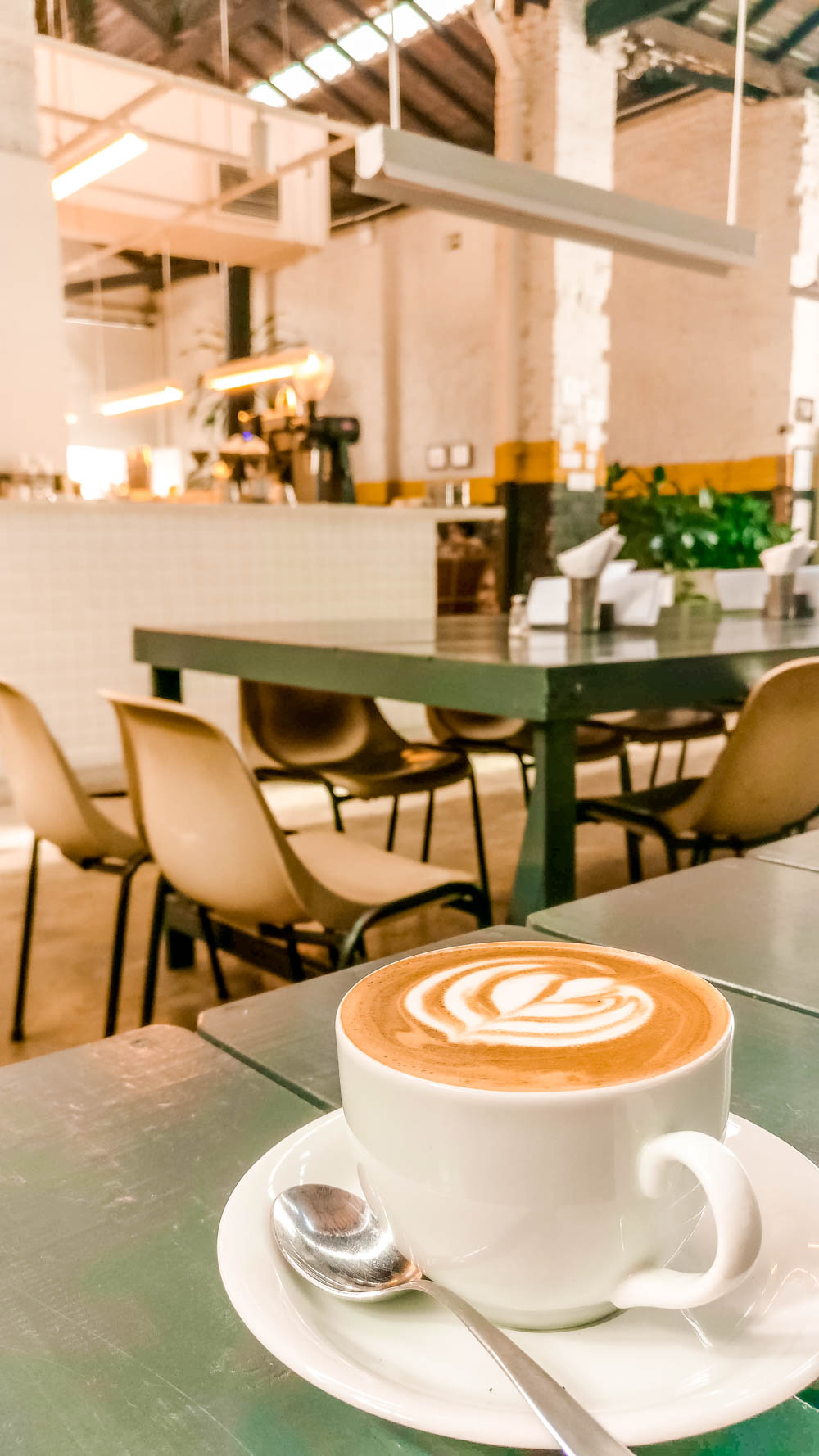 Flat white at Futuro Refeitório - Specialty coffee shop guide to São Paulo, Brazil | Aliz's Wonderland
