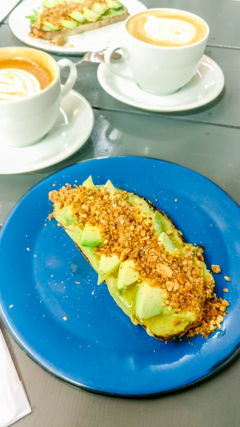 Avocado toast at Futuro Refeitório - Specialty coffee shop guide to São Paulo, Brazil | Aliz's Wonderland
