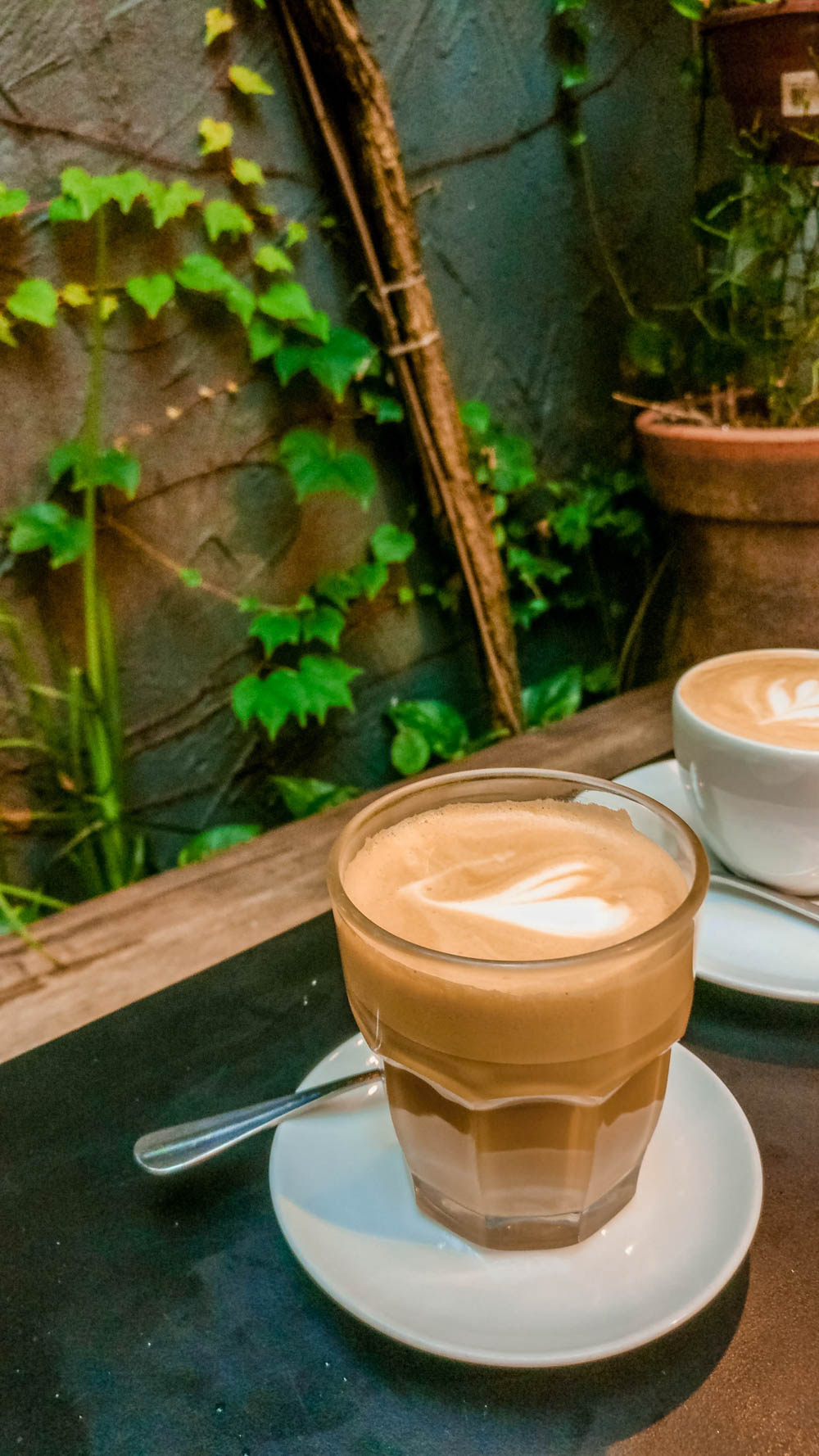 Flat white at KOF - King of The Fork - Specialty coffee shop guide to São Paulo, Brazil | Aliz's Wonderland