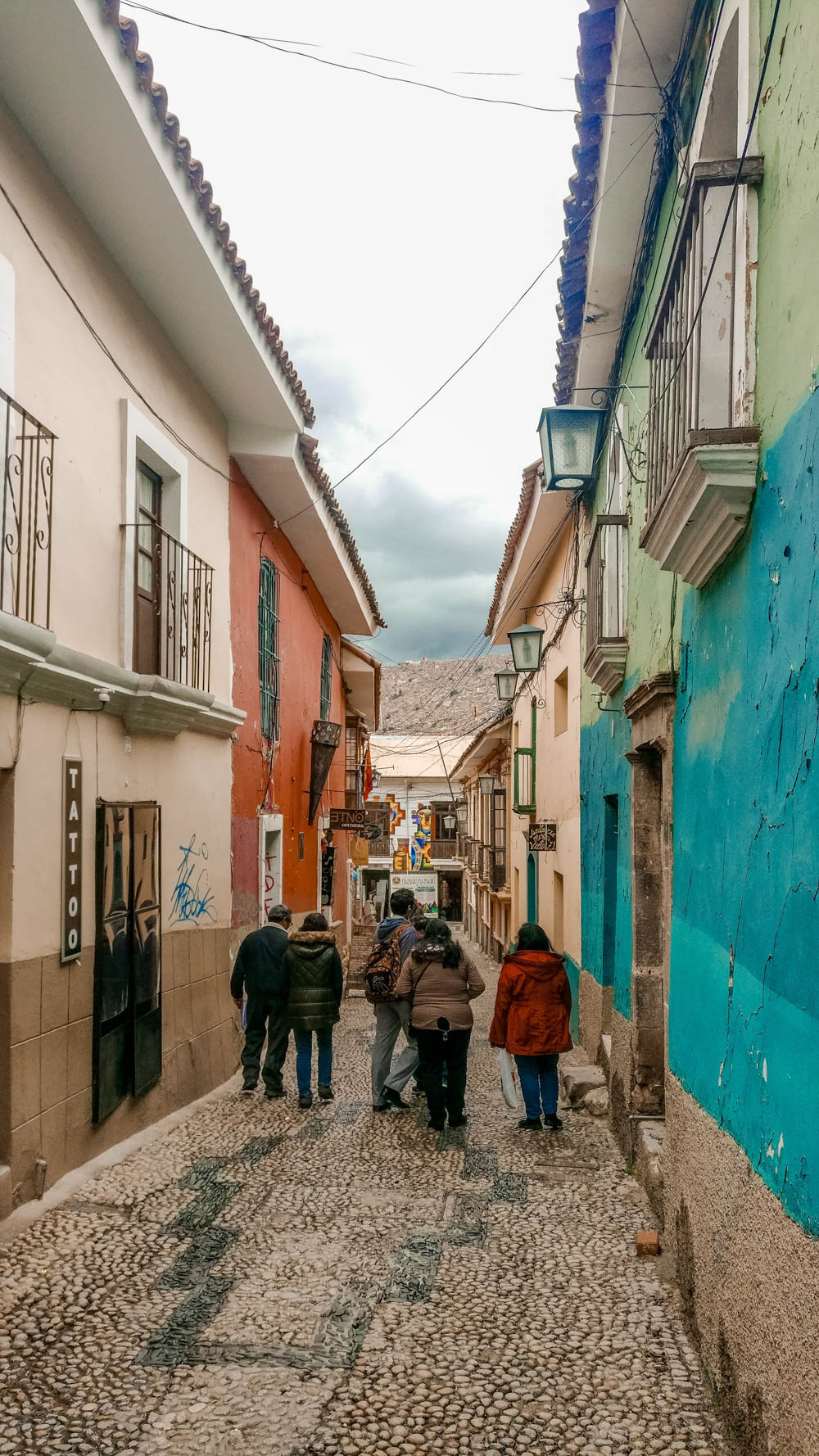 Calle Jaén, historical cobblestone street - Best places to visit in La Paz, Bolivia | Aliz's Wonderland
