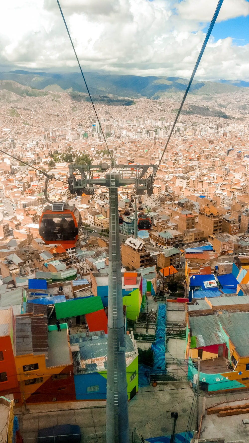 Mi Teleférico (cable car network) - Best places to visit in La Paz, Bolivia | Aliz's Wonderland