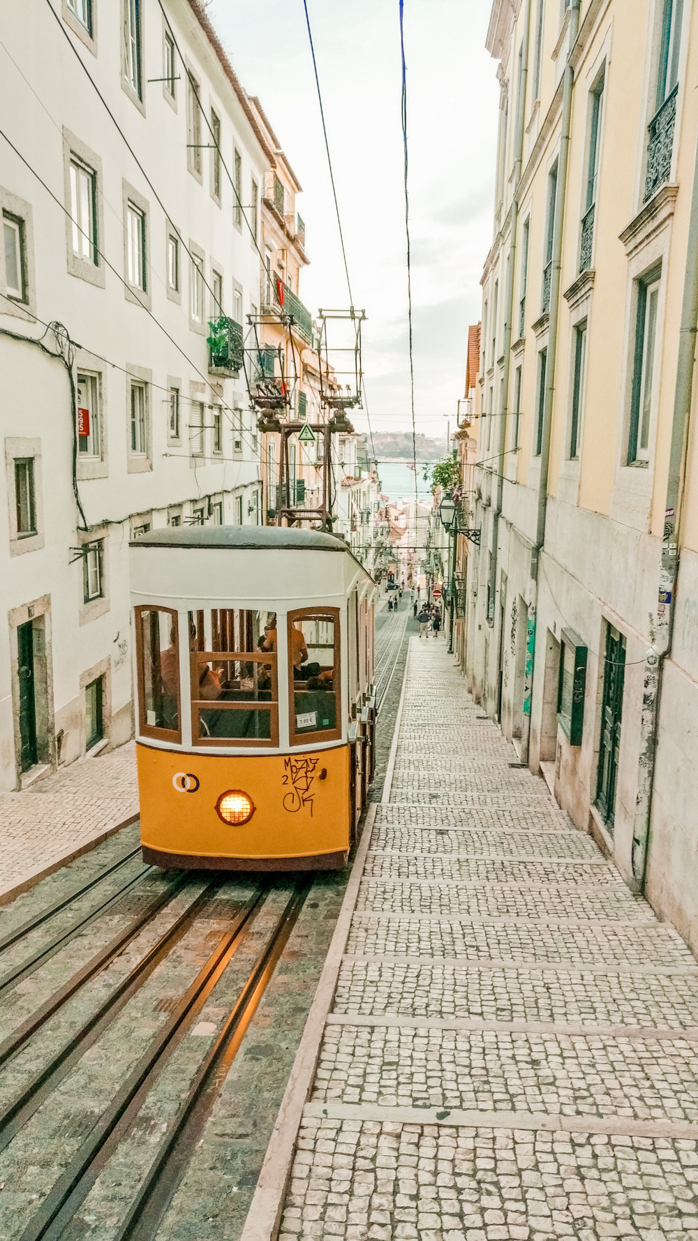 Elevador da Bica - 5 things you need to experience in Lisbon, Portugal | Aliz's Wonderland