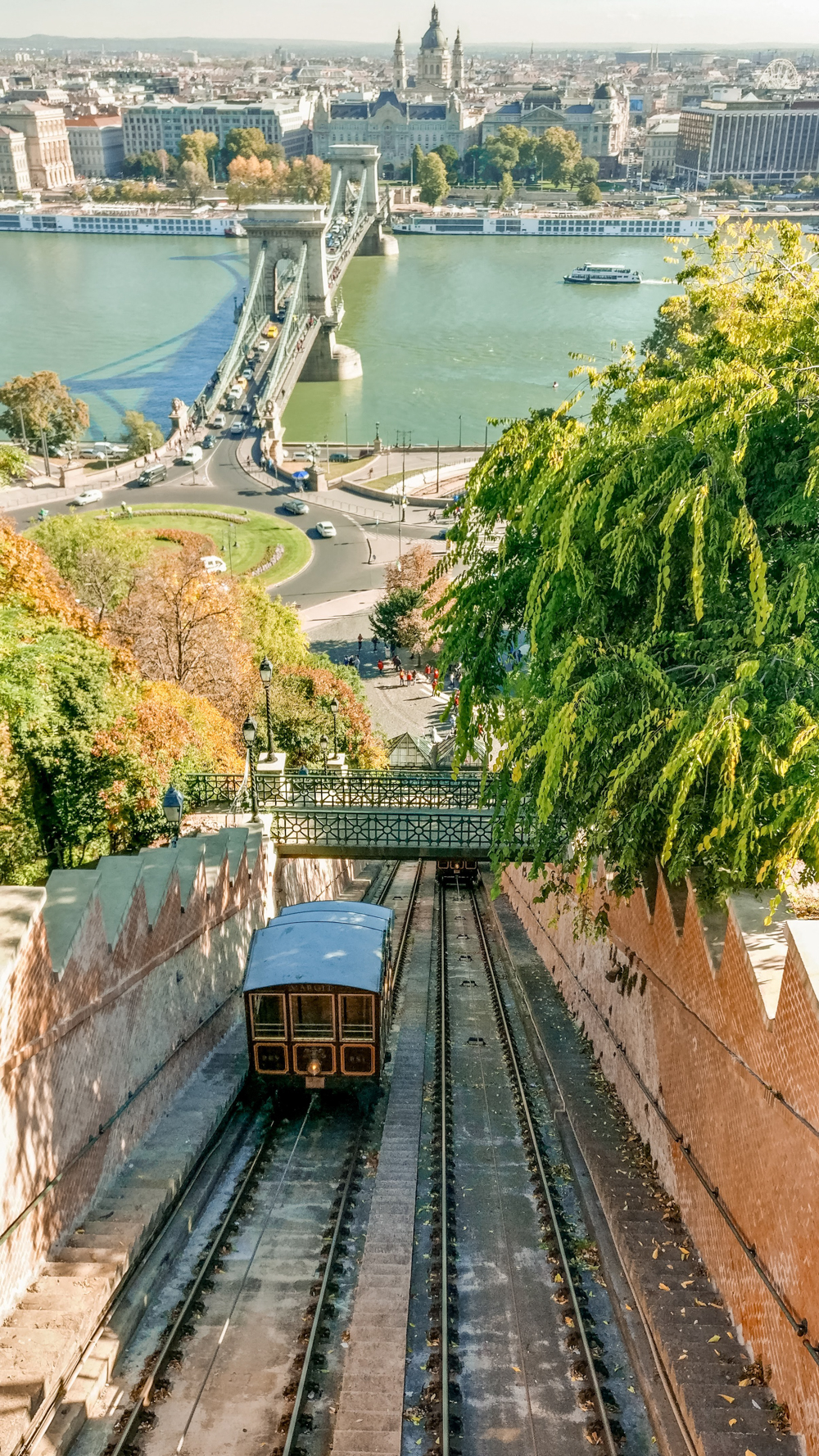 Funicular - How to explore Budapest in 2 days? - a local's travel guide with prices and map | Aliz's Wonderland