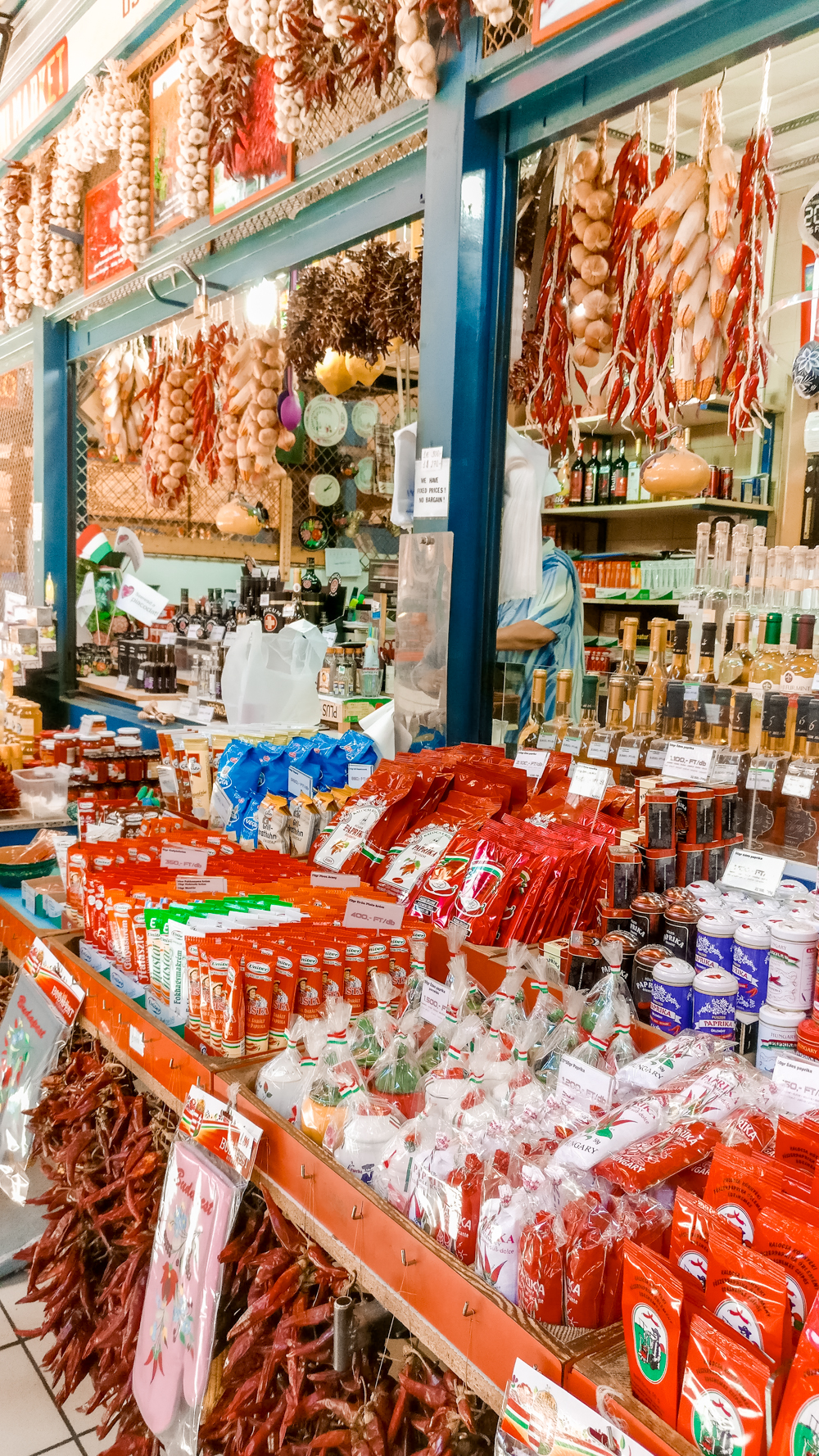 Paprika at Great Market Hall (Nagy Vásárcsarnok) - How to explore Budapest in 2 days? - a local's travel guide with prices and map | Aliz's Wonderland
