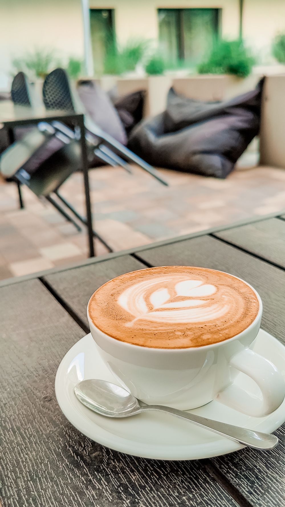Flat white at The Nook Specialty Coffeeshop - 10 must-visit stylish specialty coffee shops in Budapest, Hungary   Aliz's Wonderland