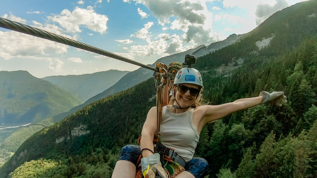 Things to know about the biggest zipline in Slovenia - 4-day Slovenia travel itinerary for the best outdoor adventures | Aliz's Wonderland