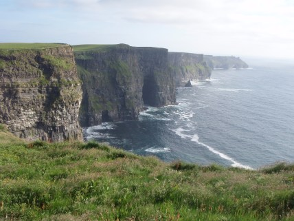 Cliffs of Moher: not actually Ireland's tallest cliffs, despite what we tell tourists