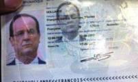 تسريب صور لجواز الرئيس الفرنسي في مطار بغداد