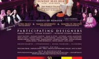 passioncaftane  تنظم عرض أزياء للقفطان في نسخته السادسة بمدينة انفرس البلجيكية