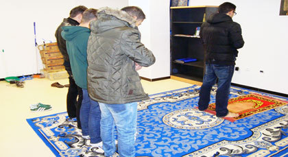 جامعة الملك خوان كارلوس بمدريد تفتح أول مسجد للطلبة المسلمين