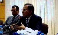 كلمة  البلوقي سفير المغرب بهولندا اثناء تكريمه بالحسيمة