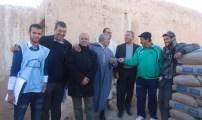 رابطة الجمعيات المغربية بالمانيا تقوم بحملة تضامنية مع سكان دوار إكيسل جماعة أباينو إقليم كلميم