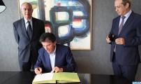 التوقيع بباريس على اتفاقية تعاون بين الجامعة الأورومتوسطية بفاس ومعهد العالم العربي