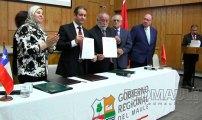 . Reino de Marruecos y Región del Maule firman acuerdo de cooperación Red Maule Red Maule