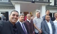سفير المغرب ببلجيكا  محمد عامر ينظم  حفل شاي على شرف  الجالية بمناسبة عيد الفطر  المبارك
