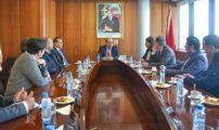 وفد فرنسي متعدد الديانات في زيارة لمجلس الجالية المغربية بالخارج.