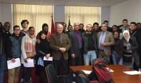 طلبة ثانوية فيكتور هورتا ببروكسيل يستعدون لزيارة المغرب بمبادرة قيمة من مؤسسة الحسن الثاني للمغاربة المقيمين بالخارج.