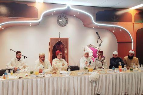 رئيس المجلس الأوروبي للعلماء المغاربة يشارك في حفل افتتاح معهد دار الهدى بأمستردام.