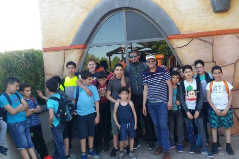 مسجد عبد الله إبن مسعود ببروكسيل ينظم خرجة ترفيهية للأطفال و الكبار.