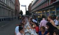 حفل إفطار رمضاني بهيج ببلدية مولمبيك بالعاصمة البلجيكية بروكسيل.
