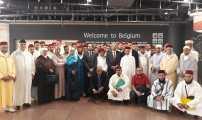 تجمع مسلمي بلجيكا يستقبل البعثة المغربية المتكونة من المقرئين و الوعاظ و الواعظات لإحياء شهر رمضان المبارك.