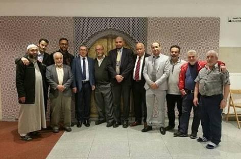 مسجد عبد الله إبن مسعود بالعاصمة البلجيكية بروكسيل يستضيف عباد الرحمان على مائدة الإفطار الرمضانية.
