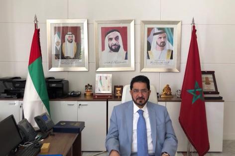 """تصريح علي سالم الكعبي، سفير الإمارات لدى المغرب، حول الوضع في اليمن وعملية تحرير ميناء """"الحديدة""""."""