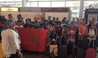 براعم الجالية المغربية المقيمين ببروكسيل يشاركون في المقام الثقافي الذي تنظمه مؤسسة الحسن الثاني للمغاربة المقيمين بالخارج بمدينة بوزنيقة.