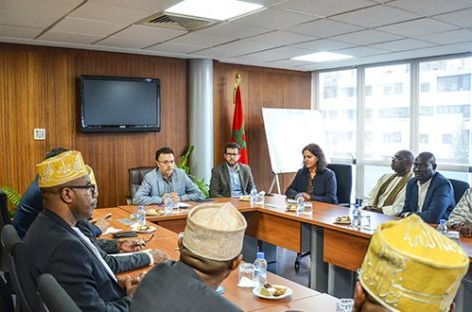 وفد لجمعيات مسلمي منطقة باكا الفرنسية في زيارة لمجلس الجالية المغربية بالخارج