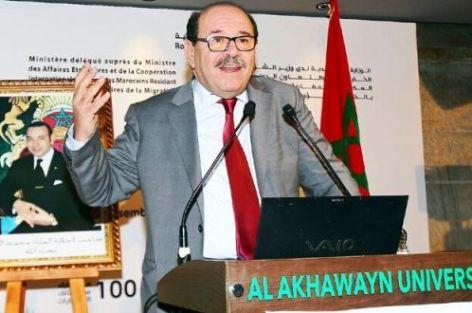 الدكتور عبد الله بوصوف: يد الملك إلى الجزائر ممدودة ودعاوى التفرقة مردودة.