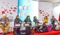 نظرات متقاطعة لكتاب من مغاربة العالم حول تعدد لغة الإبداع الأدبي.