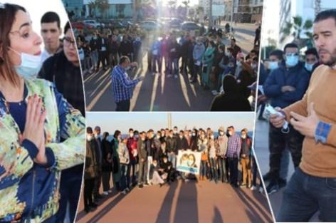 لأول مرة في المغرب، ناظوريون يخرجون بالكمامات لتحسيس وتوعية الساكنة بأهميتها للوقاية من مرض H1N1