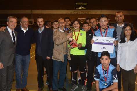 نجاح كبير للدوري السنوي لكرة القدم و كرة السلة الذي تنظمه تنسيقية مدارس اللغة العربية ببلجيكا.