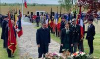 تخليد ذكرى إستشهاد الجنود المغاربة بحضور سفير المملكة المغربية ببلجيكا و الذوقية الكبرى للوكسمبورغ السيد محمد عامر و شخصيات مهمة أخرى.