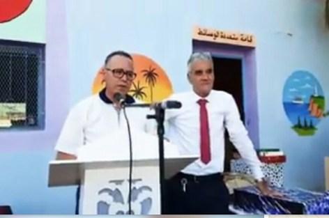 كلمة العبوضي في حق مدير مدرسة أحمد مكوار + الفيديو.