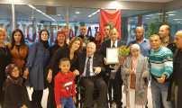 إحتفالاً بالذكرى 30 على التأسيس مؤسسة  ' مجتمع الصداقة' تكرم القنصل العام و مهاجر مغربي من رجال المطافئ