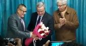 اللجنة التنسيقية لفعاليات المجتمع المدني بشمال المغرب تكرم الأستاذ محمد اوجار على هامش مهرجان الذاكرة المشتركة في نسخته الثامنة .