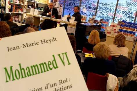 """Rencontre avec Jean-Marie Heydt qui signe son nouveau livre """"Mohammed VI, la vision d'un Roi : actions et ambitions."""""""