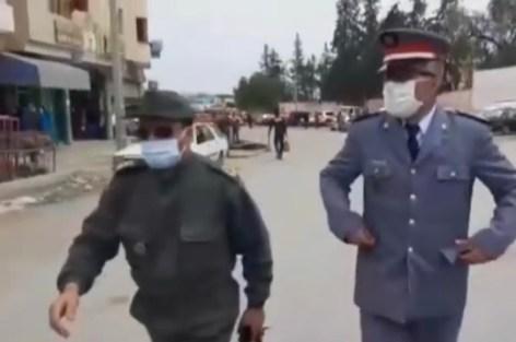 سطات… قائد قيادة سيدي حجاج يقود حملة بأولاد أمراح بعد تمديد الحجر الصحي بالمغرب
