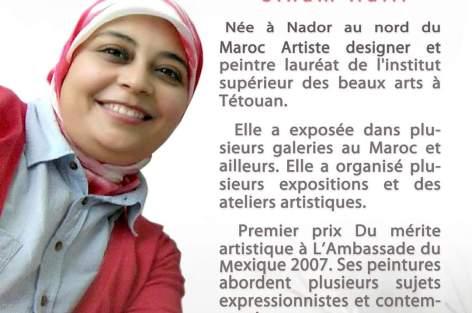 ابنة الناظور سهام حلي، الفنانة التشكيلية في عيون نقدية