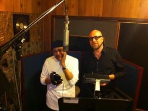 Al and Mario in Studio