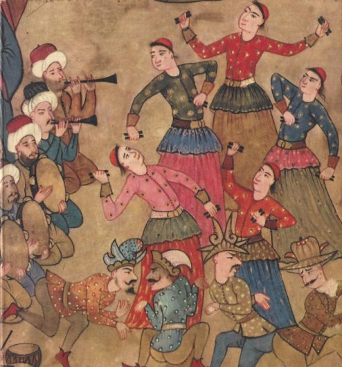court jester turkish miniatures