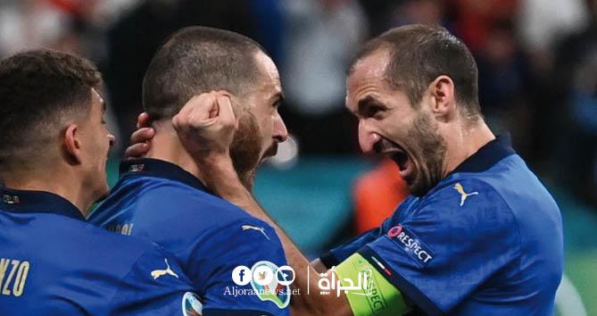 إيطاليا تفوز على إنجلترا وتظفر بكأس يورو 2020