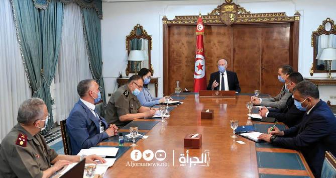 قرارات قيس سعيد بعد الاجتماع الطارئ مع قيادات عسكرية وأمنية