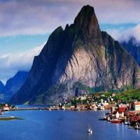 Reine in Lofoten Islands, Norway