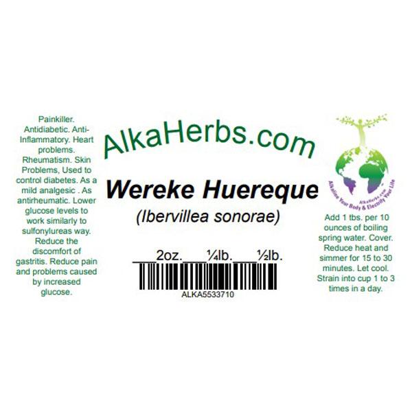 wereke huereque