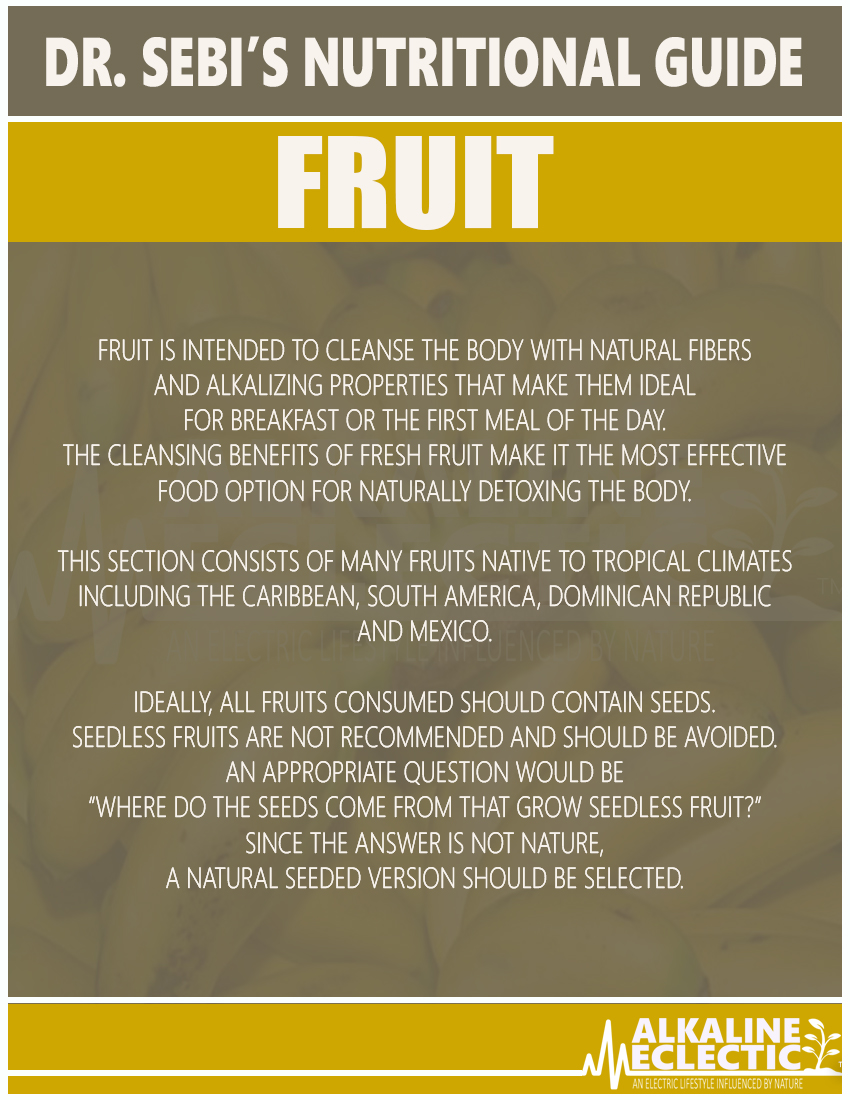 NUTRITIONAL GUIDE FRUIT INTRO FINAL